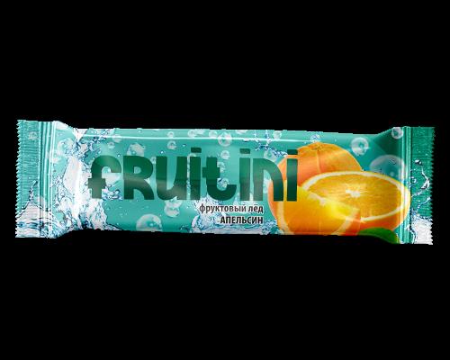 """Лед яблочный """"Фруттини """" с ароматом апельсина"""