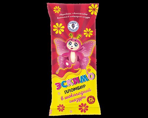 """Эскимо пломбир """"Краснодарское"""" ваниль в шоколадной глазури"""