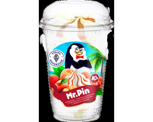 """Мороженое  слив. """"Mr Pin"""" ваниль с персиковым наполнителем пл/с"""