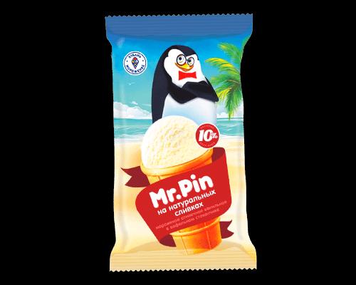 """Мороженое сливочное """"Mr Pin"""" ваниль в/с"""