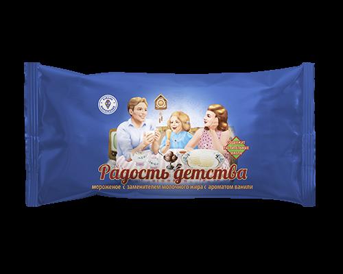 """Мороженое с змж ванильное (полено) """"Радость детства"""""""
