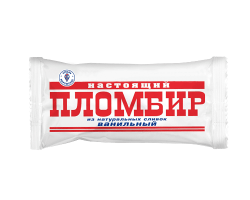"Эскимо пломбир ""Настоящий пломбир"" ваниль 18% на палочке"