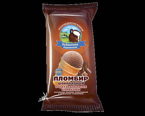 """Пломбир """"Шоколадный"""" в/с"""