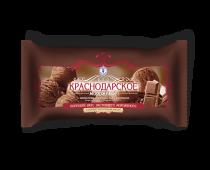 Мороженое с змж шоколадное ( мешок) в упак. 4 шт. / 0,9 кг