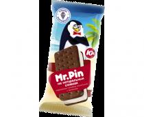 """Мороженое пломбир ванильный в печенье """"Mr Pin"""""""