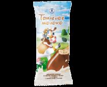 Эскимо пломбир со вкусом топленого молока с карамелью в карамельной глазури