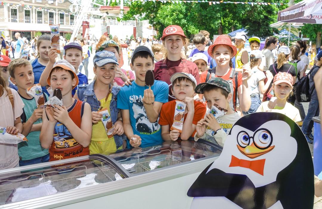 Кубань-Мороженое на Празднике мороженого