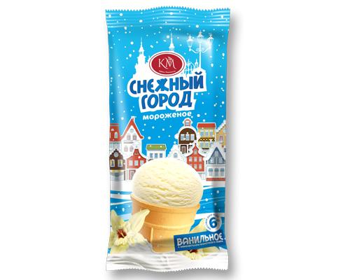 Ванильное мороженое в вафельном стаканчике Новинка!