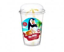 Мороженое ванильное с вареной сгущенкой